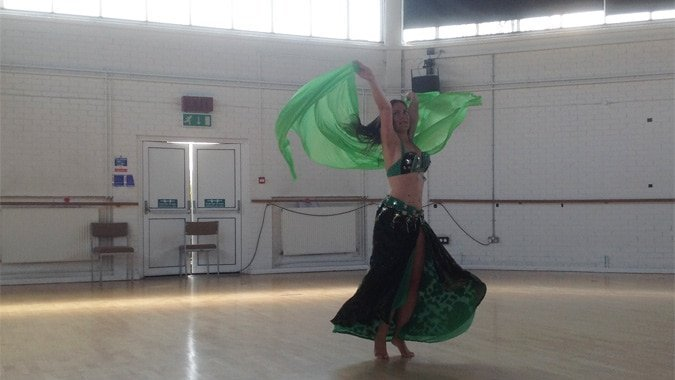 Italian belly dancer