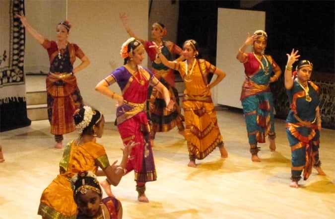 Performance in Cardiff, Wales by Indiadancewales.