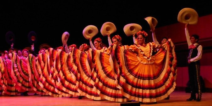 Mexican folklore dance