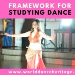 Framework for studying dance.