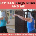 Teaching Egyptian dance