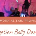 Profile of the Egyptian dancer Mona al Said