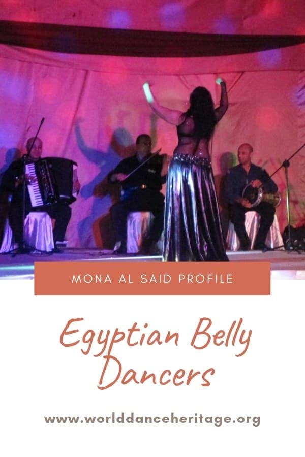 Dance movements and laban of Mona al Said the dance performer.