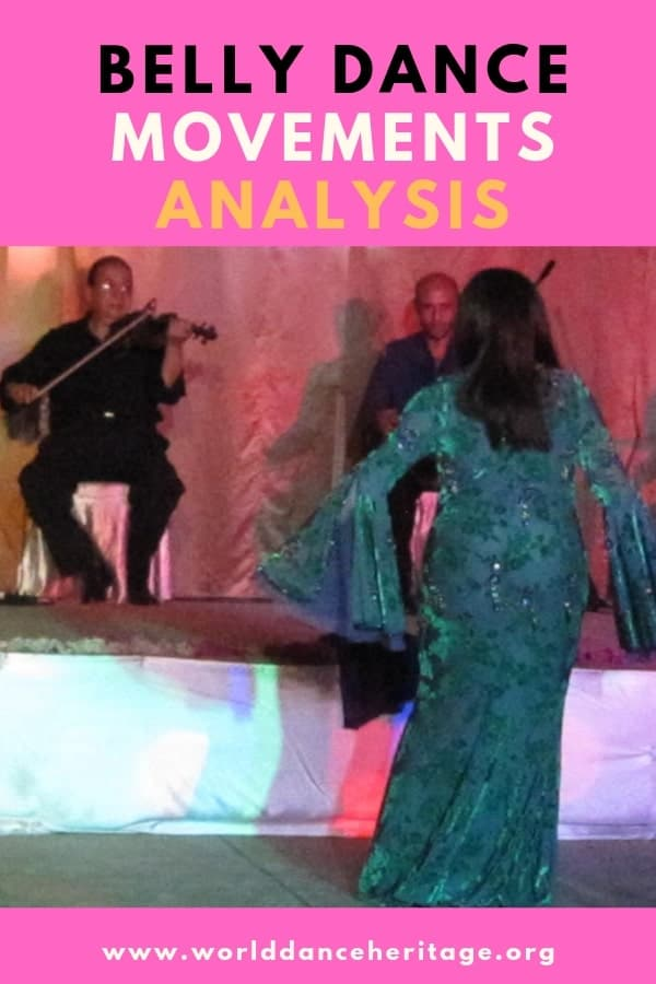 Belly dance movements analysis
