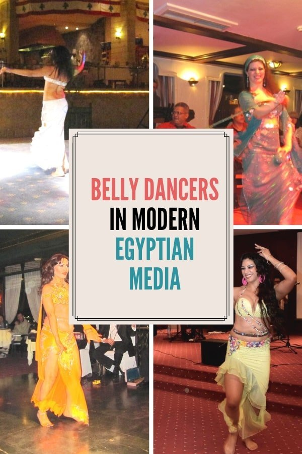 Belly dancers in the Egyptian media