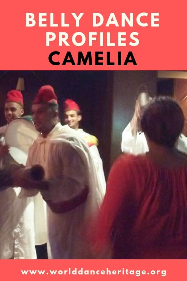 Camelia profile - one of the most famous modern belly dancers