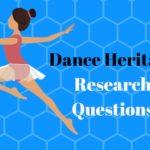 Dance project questions