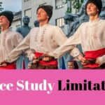 Dance research limitations