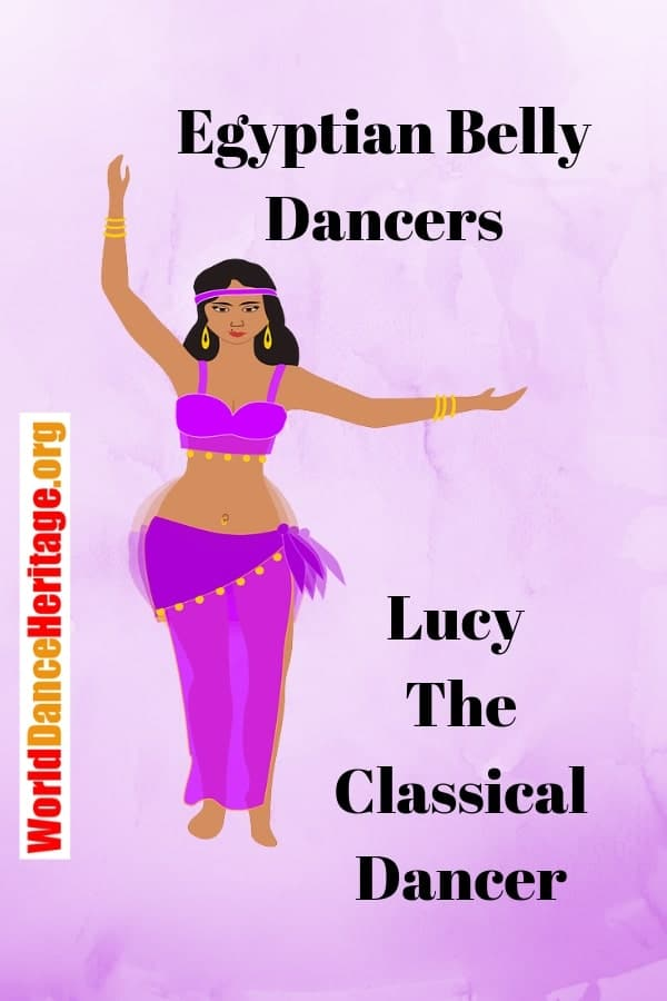 Profile of Lucy, one of hte last classical belly dancers from Egypt.