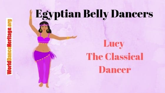 Lucy – Classical Raqs Sharqi Belly Dancer from Egypt Laban Movements and Style (5.6.2)