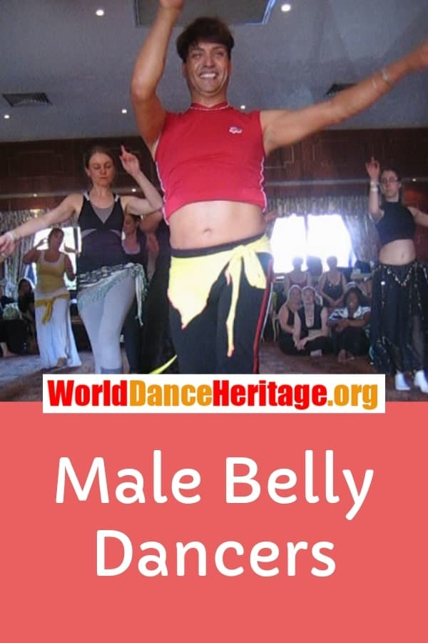 Male belly dancers