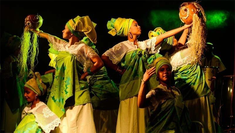 Dance performance in Nigeria.