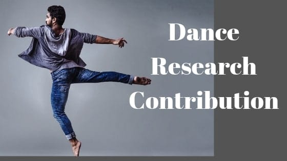 Dance Research Contribution (7.5)