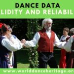 Reliability of the dance dataset