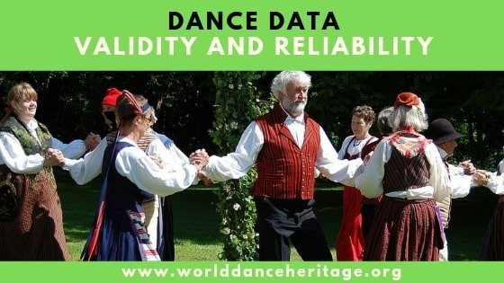Dance Data Validity and Reliability (4.8)