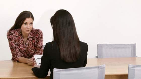 Dping a esearch interview.