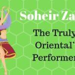 Profile of the Egyptian belly dancer Soheir Zaki