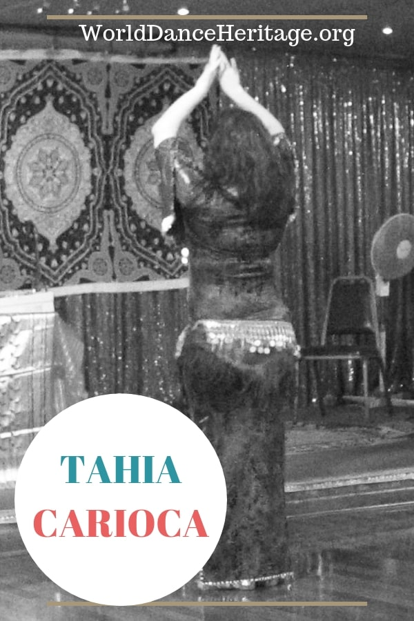 Tahia Carioca the world famous belly dancer and famous in Egyptian cinema.