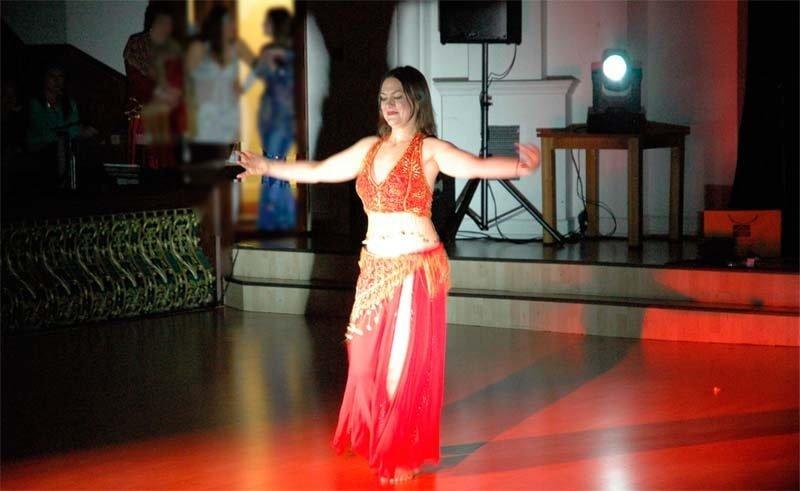 Dr Valeria Lo Iaconio dancing.