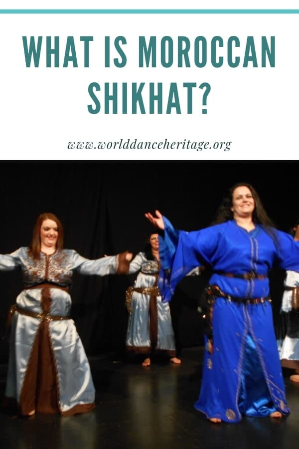 What is Moroccan Shikhat dance