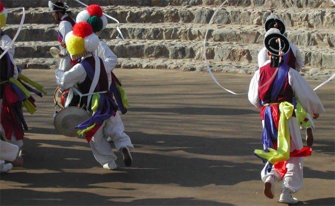 Traditional Korea dance