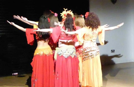 Belly dance performance