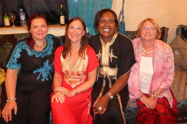 Finding time to learn belly dancing in Morocco